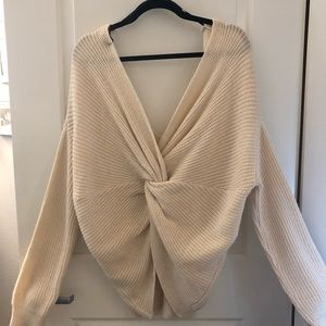Sweaters - Knot back sweater